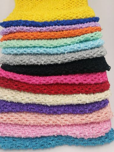 "Crochet Tube Top  7 x 9"" From £1.30"